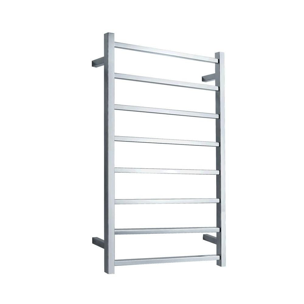 ANZZI Bell 8-Bar Electric Towel Warmer in Polished Chrome