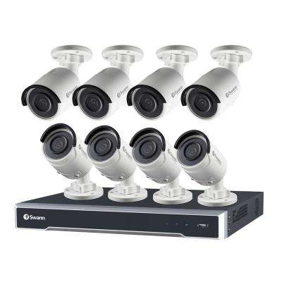 Swann 16-Channel 5MP Super HD Surveillance NVR with 3TB Hard Drive and 8x 5MP IP Bullet Camera