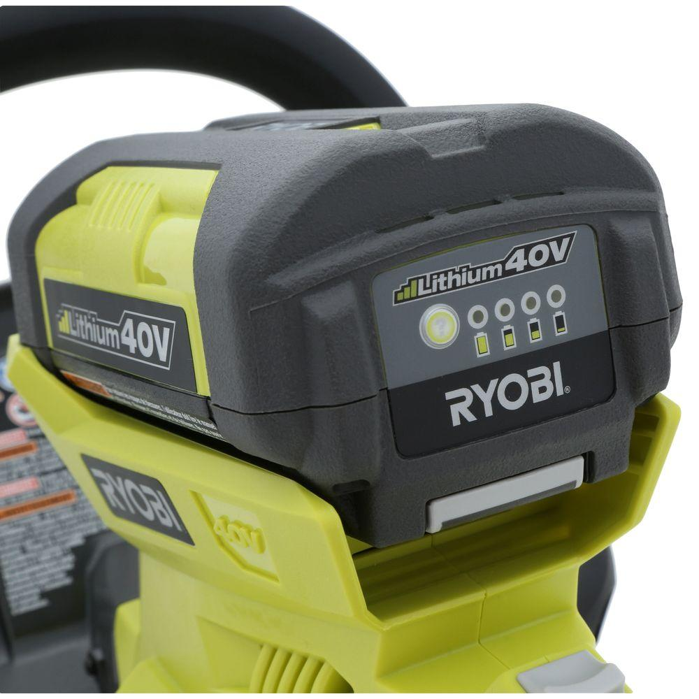 Ryobi Hedge Trimmer 24 Quot Cordless 40v Lithium Ion Battery