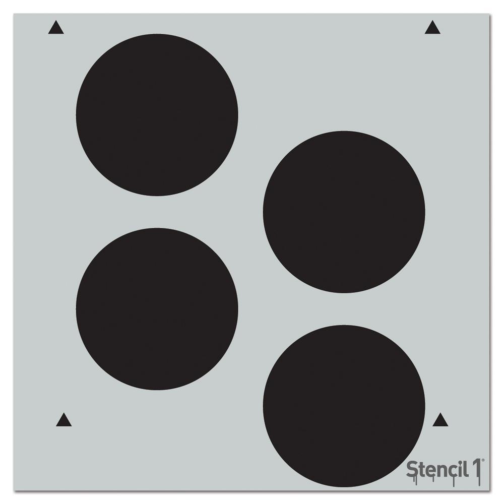 Dots Repeat Pattern Stencil