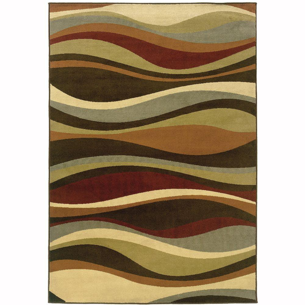 Oriental Weavers Grace Torres Multi 7 ft. 10 in. x 10 ft. Area Rug