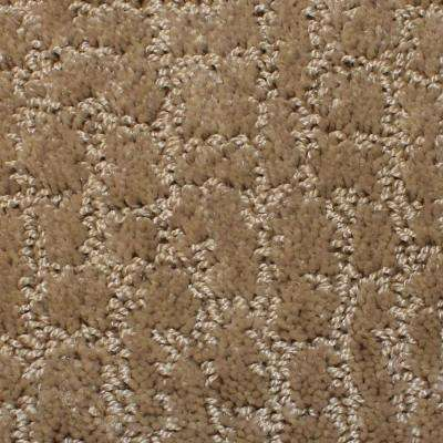 Carpet Sample - Weeping Willow - Color Raffia Pattern 8 in. x 8 in.