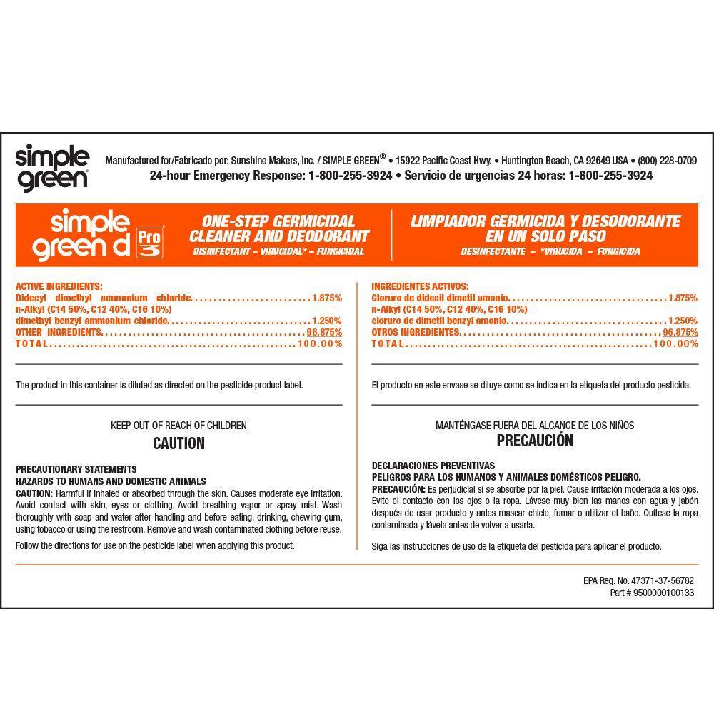 d Pro 3 Secondary Label (10-Pack)