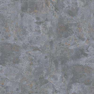 8 in. x 10 in. Laminate Sheet in Milwaukee Jct. Zinc with Virtual Design Antique Finish