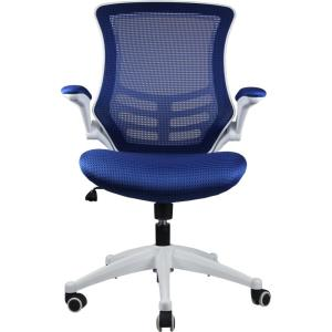 Manhattan Comfort Lenox Mesh Adjustable Royal Blue Office Chair by Manhattan Comfort