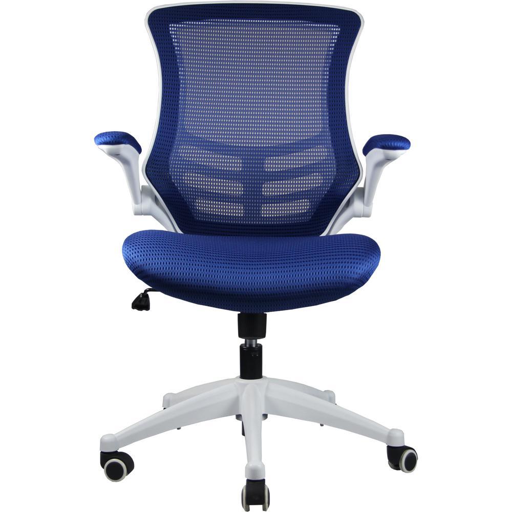 Lenox Mesh Adjustable Royal Blue Office Chair