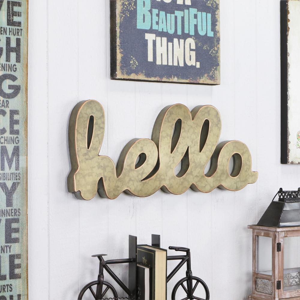 Decorative Letters Wall Decor