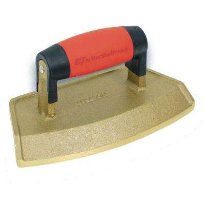 "18"" Dia 3/4 in. Lip Bronze Chamfer Tube Edger with Soft Grip Handle"