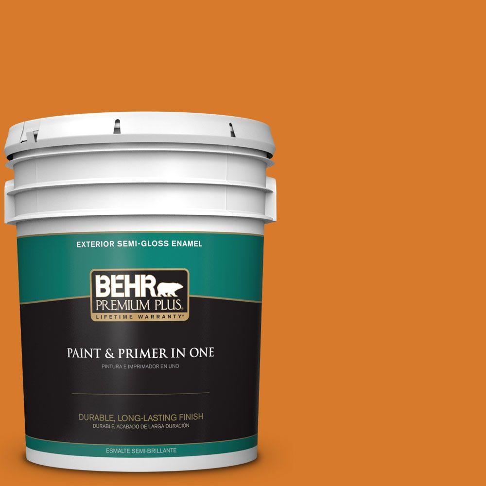 5-gal. #270B-7 Bonfire Semi-Gloss Enamel Exterior Paint