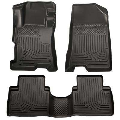 Front & 2nd Seat Floor Liners Fits 14-15 Sorento