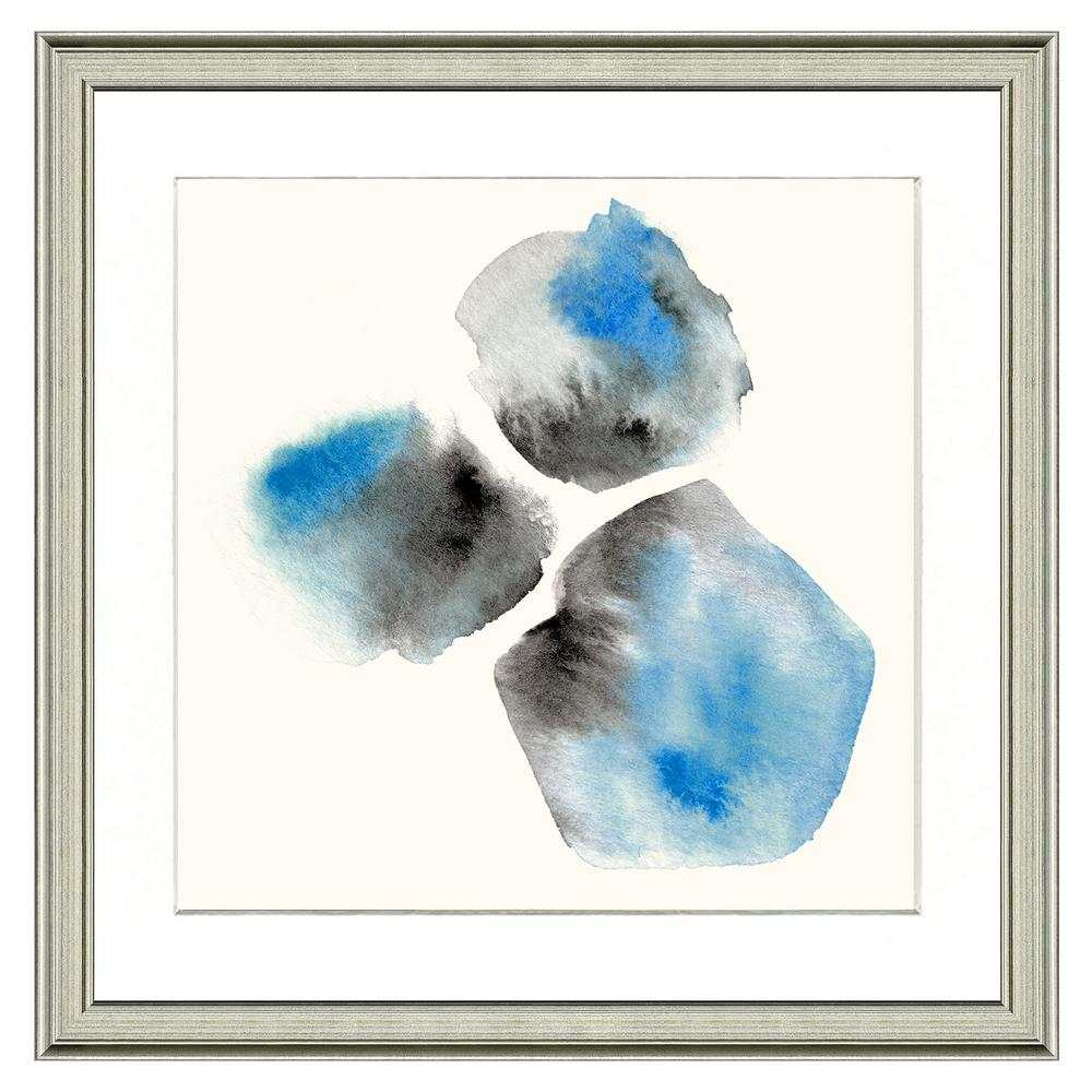 Vintage Print Gallery 20 in. x 20 in. Full Size Blue gems Framed Archival Paper Wall Art was $195.96 now $124.66 (36.0% off)