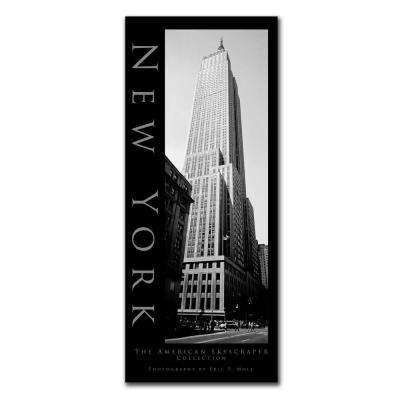24 in. x 10 in. New York Canvas Art