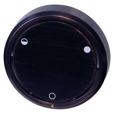 Round Replacement, Full or Partial Closing Metal Overflow in Oil Rubbed Bronze