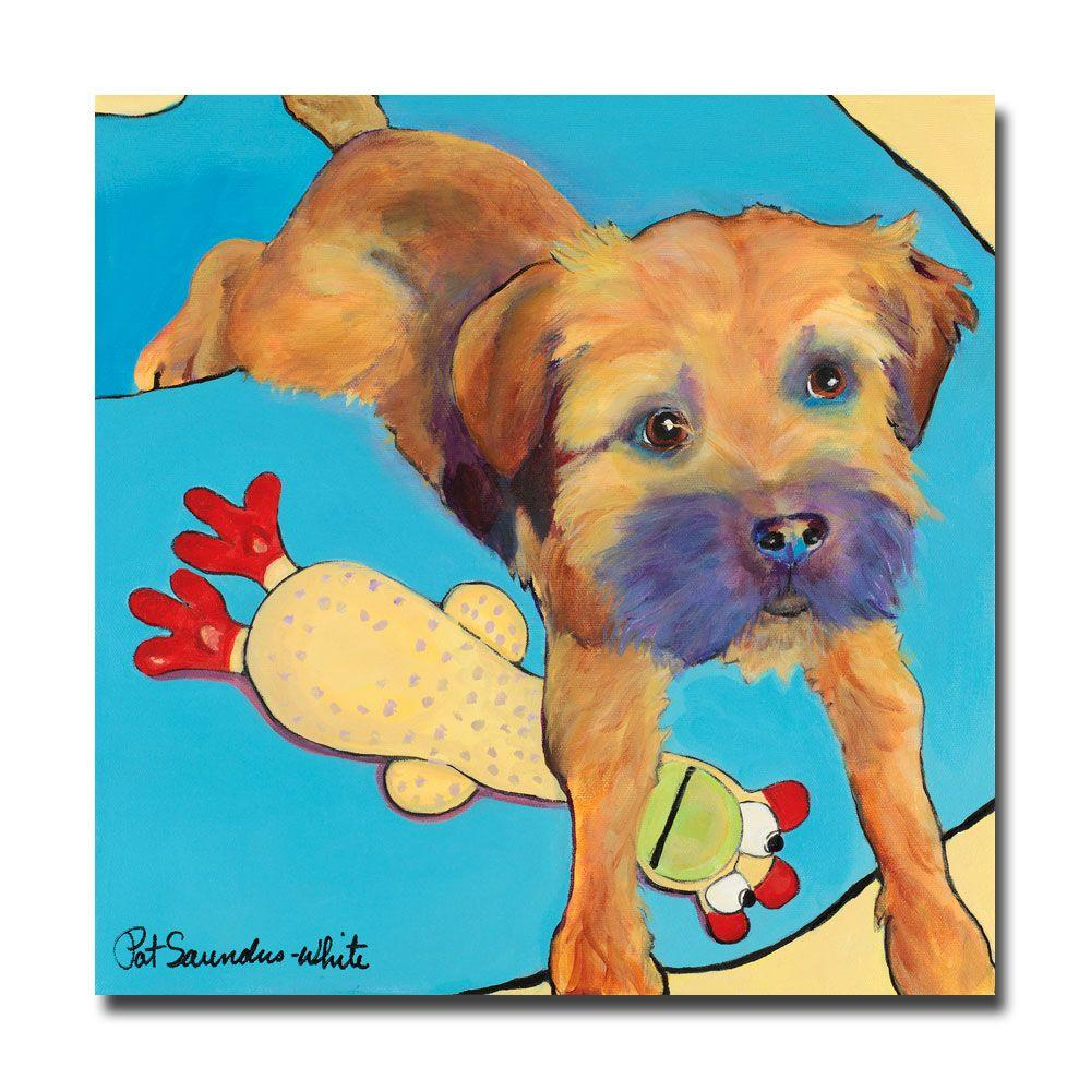 Trademark Fine Art 18 in. x 18 in. Favorite Toy Canvas Art