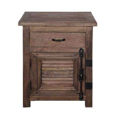 Lapligla Collection Brown Accent Chest