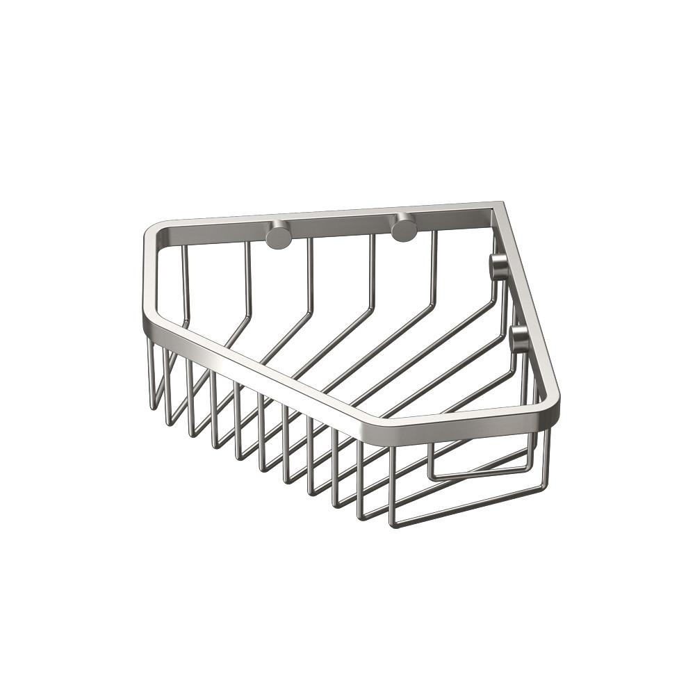 Gatco Shower Basket in Satin Nickel