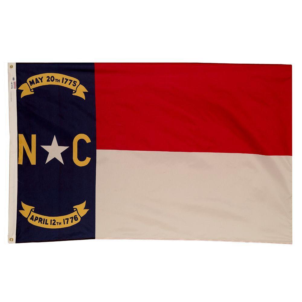 3 ft. x 5 ft. Nylon North Carolina State Flag