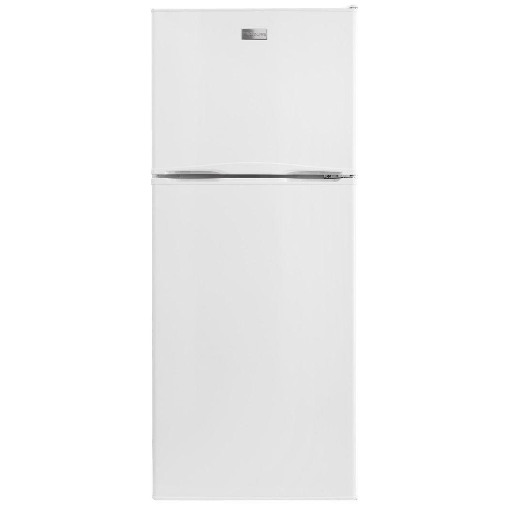 frigidaire 10 cu ft top freezer refrigerator in white fftr1022qw the home depot. Black Bedroom Furniture Sets. Home Design Ideas