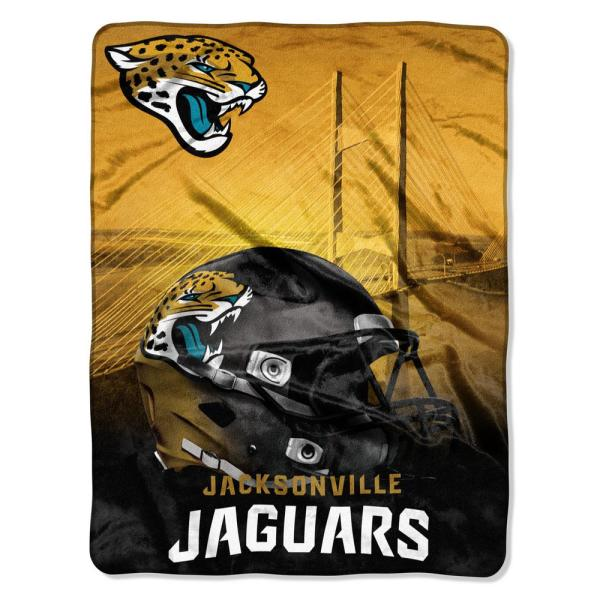 505e9853 Jaguars Heritage Silk Touch Throw