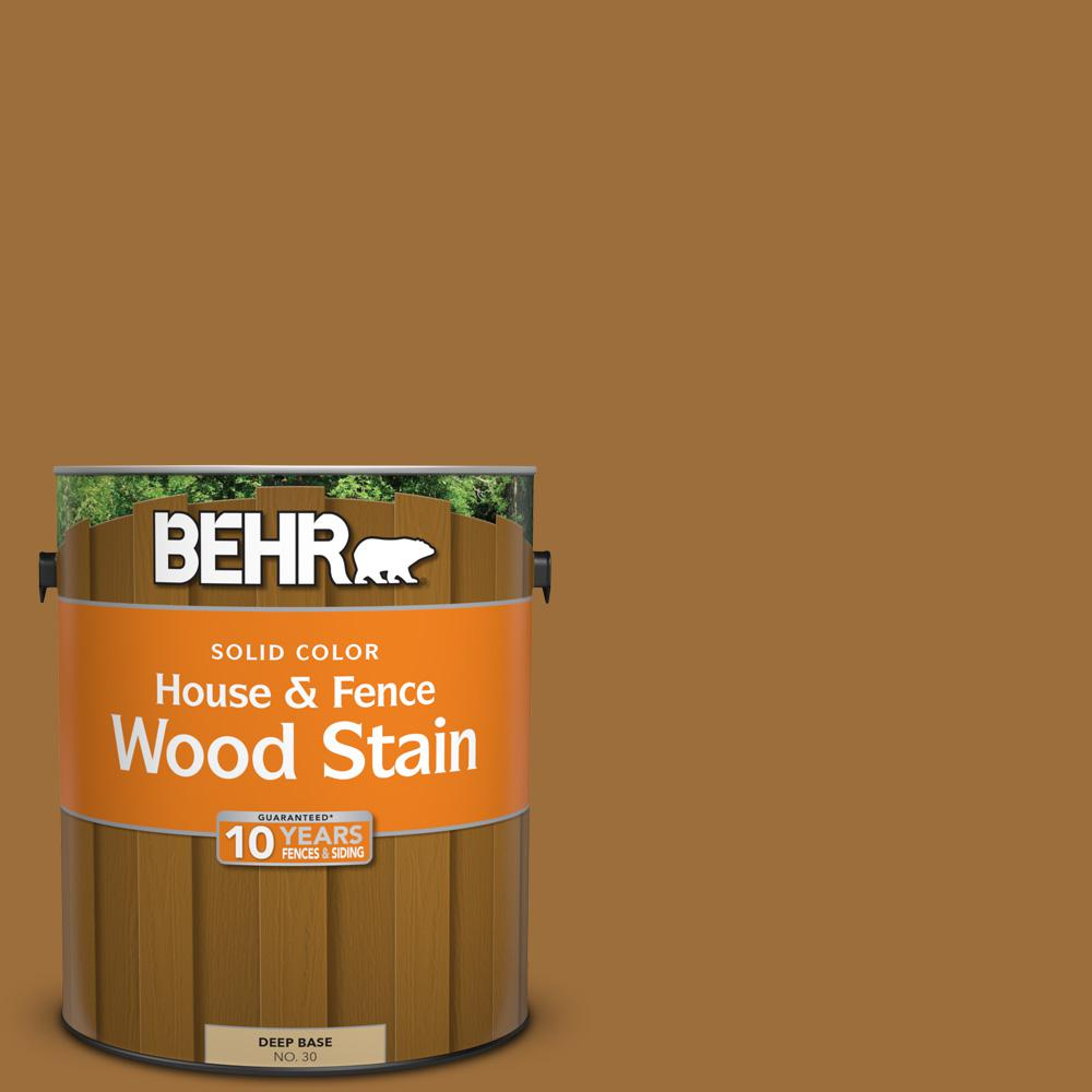 1 gal. #SC-146 Cedar Solid Color House and Fence Wood Stain