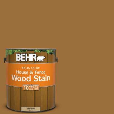 1 gal. #SC-146 Cedar Solid Color House and Fence Exterior Wood Stain