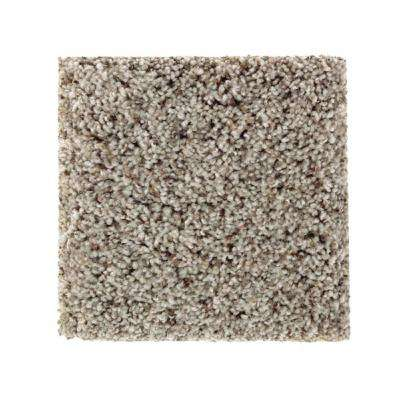 San Rafael I (F1) - Color Rocky Path Texture 12 ft. Carpet