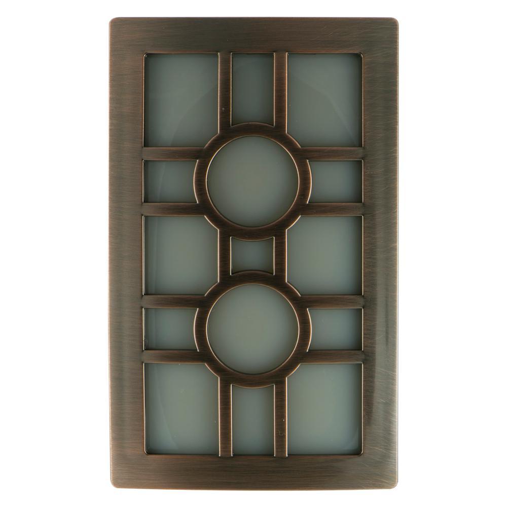 GE Oil Rubbed Bronze CoverLite LED Night Light