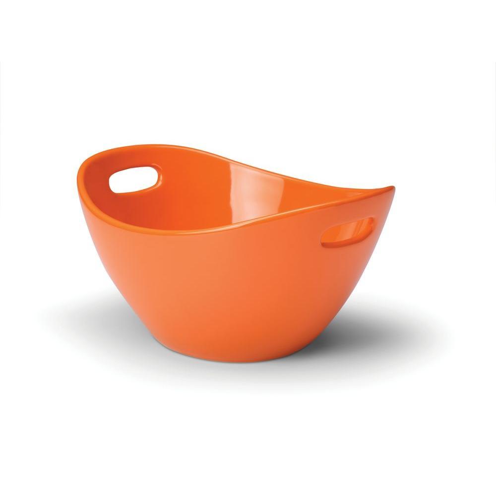 Rachael Ray 10 in. Serving Bowl in Orange