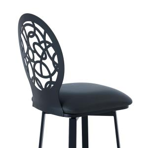 Fantastic Armen Living Lotus Contemporary 30 In Bar Height Barstool Onthecornerstone Fun Painted Chair Ideas Images Onthecornerstoneorg