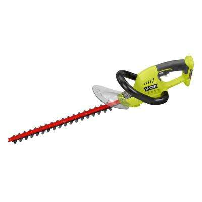ONE+ 18 in. 18-Volt Lithium-Ion Cordless Battery Hedge Trimmer (Tool Only)