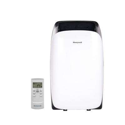 HL Series 10,000 BTU Portable Air Conditioner with Dehumidifier and Remote Control - White/Black