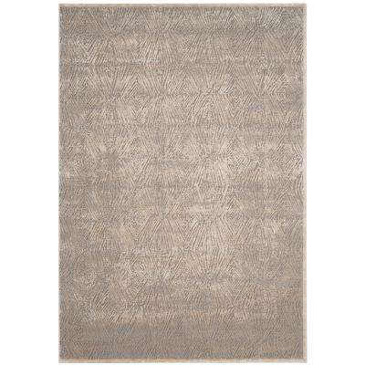 Meadow Ivory/Gray 6 ft. 7 in. x 9 ft. Area Rug