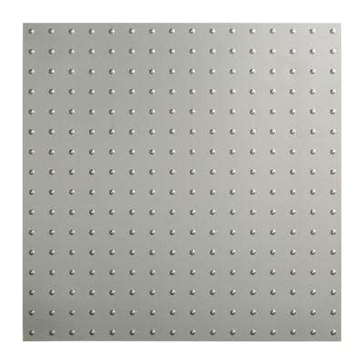 Minidome - 2 ft. x 2 ft. Lay-in Ceiling Tile in Argent Silver