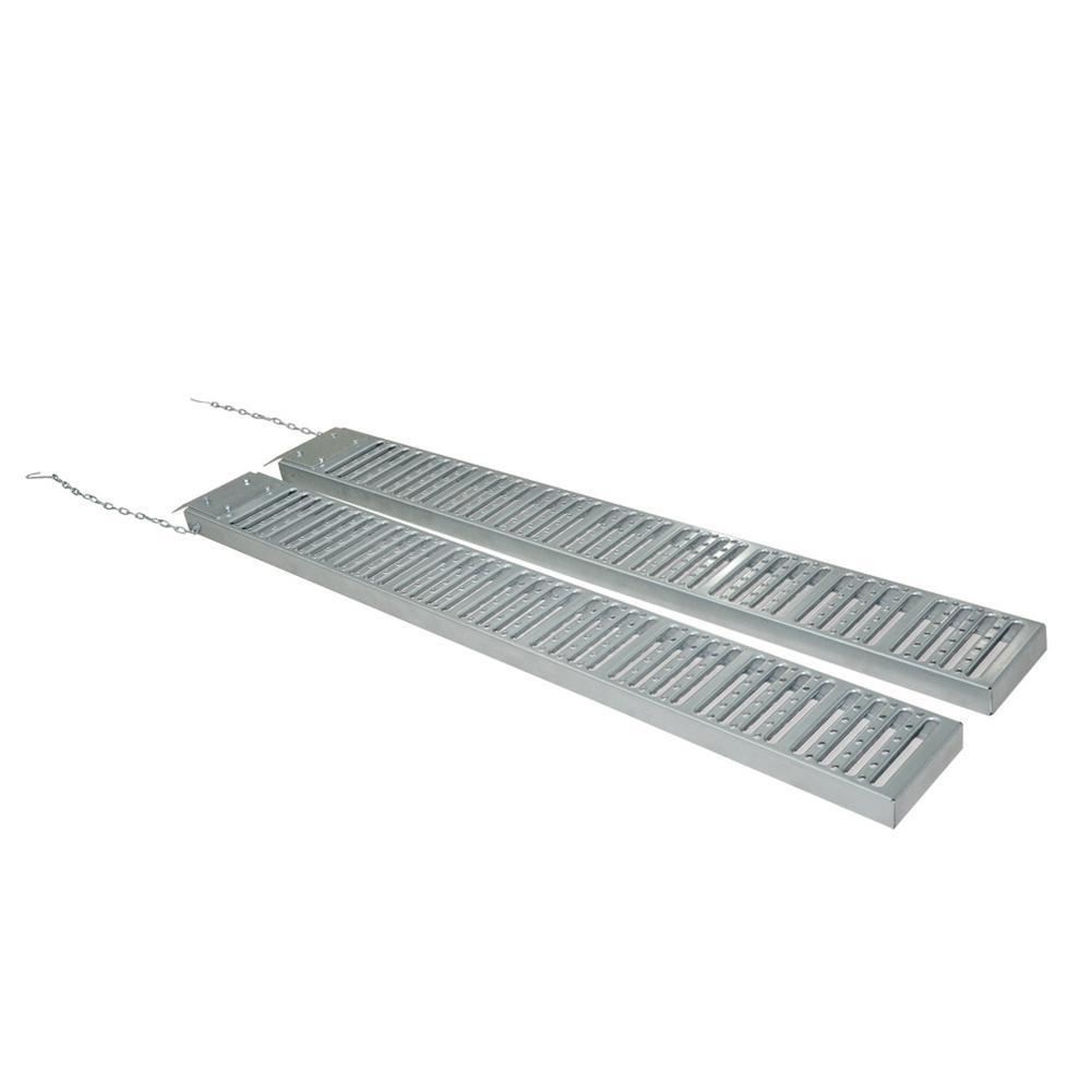 9 in. x 72 in. 1000 lbs. Capacity Steel Loading Ramps