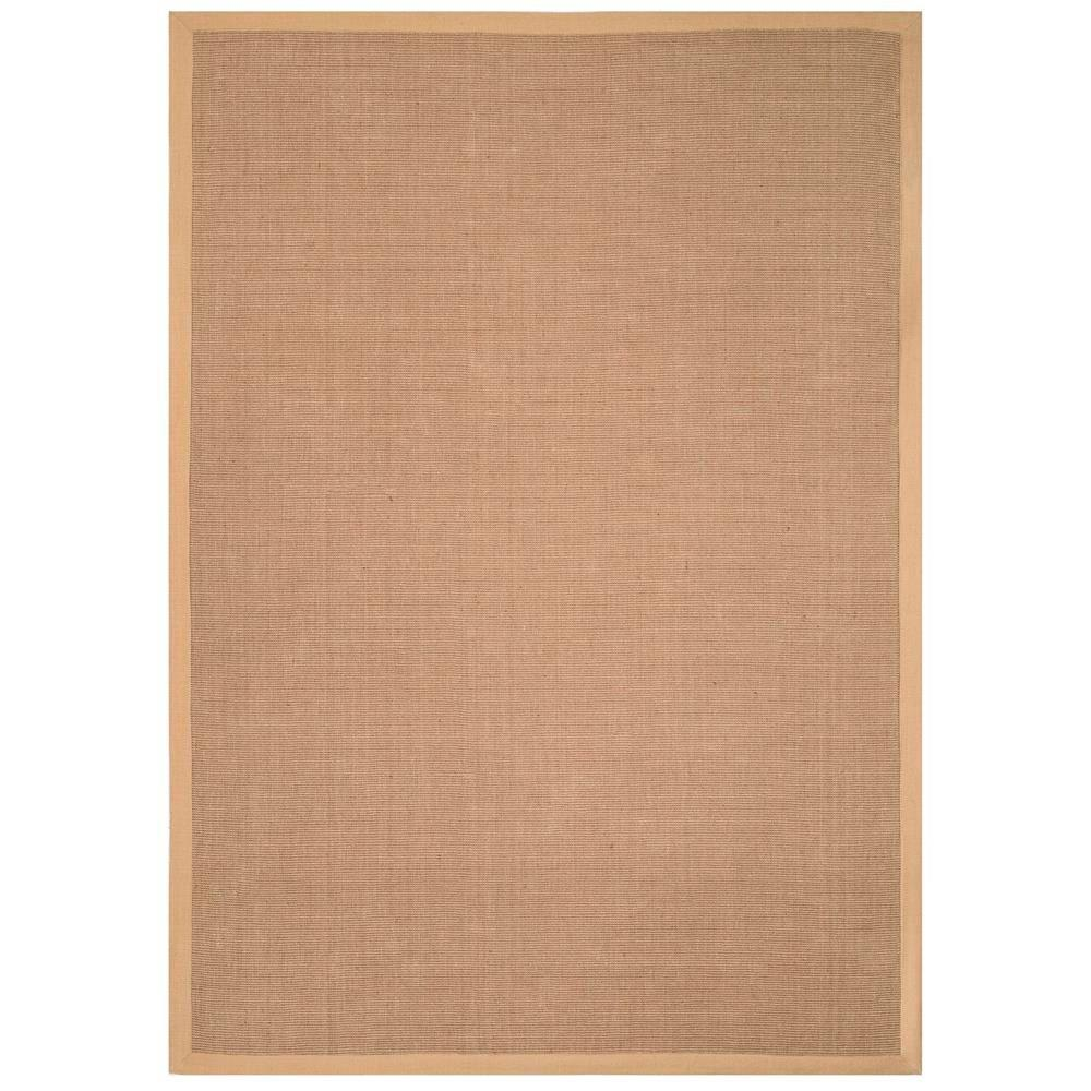 Anji Mountain Andes Tan 9 Ft X 12 Ft Jute Area Rug