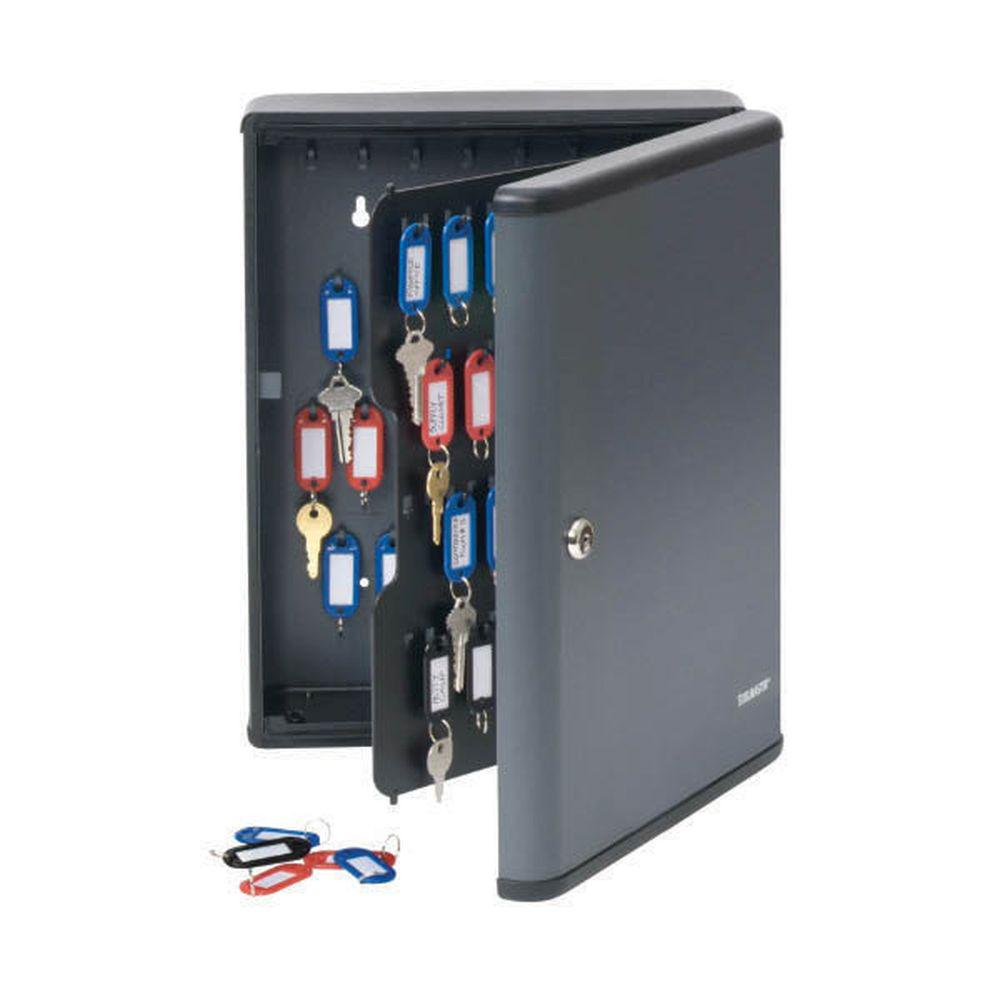 STEELMASTER Security Key Cabinet Safe for 90 keys in Charcoal ...