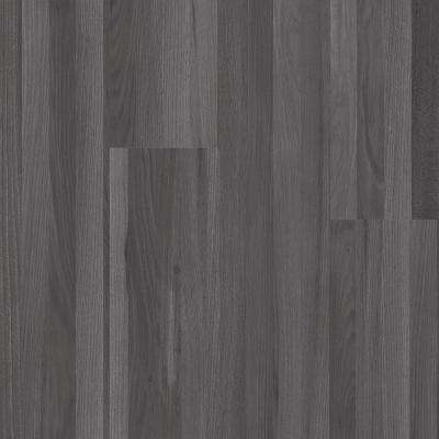 Oak Strip Charcoal 6 in. Wide x 48 in. Length Click Floating Vinyl Plank Flooring (19.39 sq. ft./case)