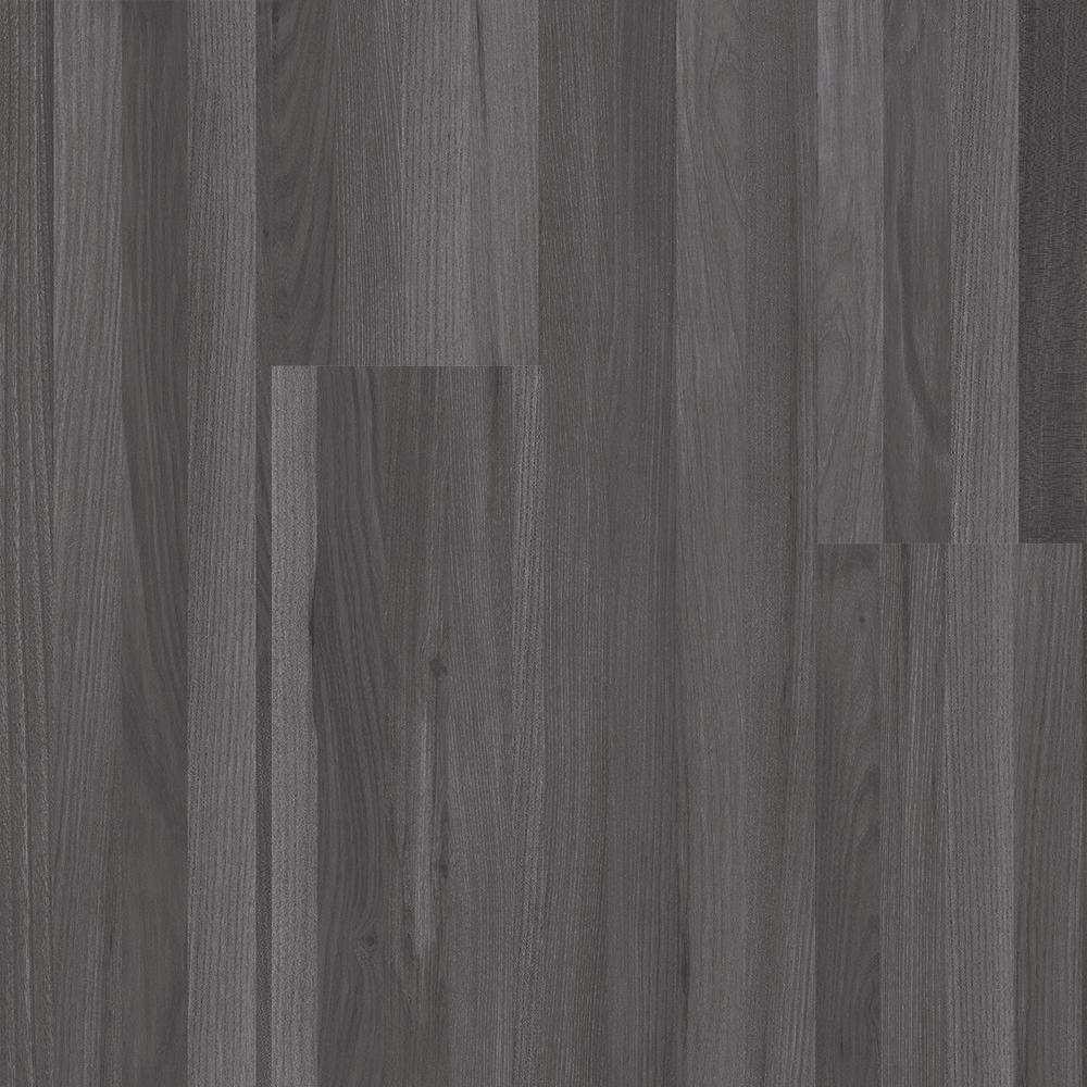 Oak Strip Charcoal 6 in. Wide x 48 in. Length Click Floating luxury vinyl plank flooring (19.39 sq. ft./case)
