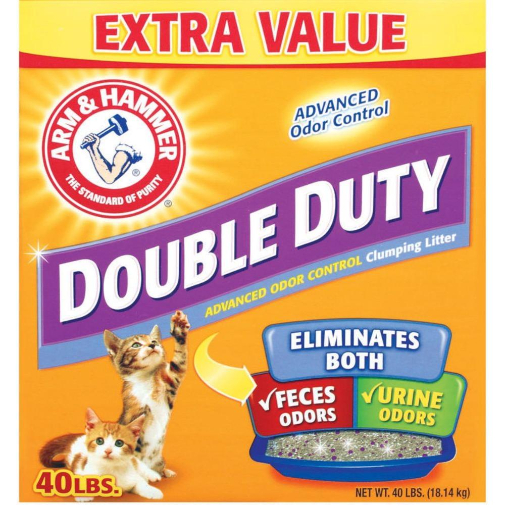 40 lb. Double Duty Clumping Litter