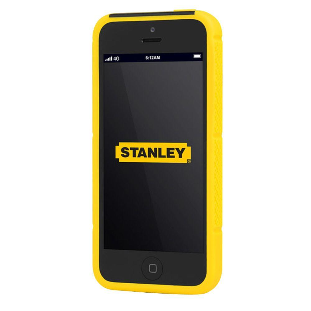 Stanley Technician iPhone 5 Rugged 2-Piece Smart Phone Case - Black and Yellow