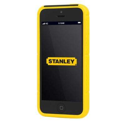Technician iPhone 5 Rugged 2-Piece Smart Phone Case - Black and Yellow