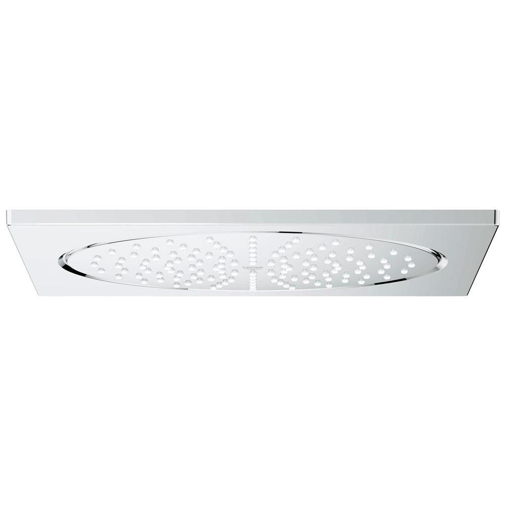 GROHE Rainshower F Series 1 Spray 10 In. Ceiling Fixed Showerhead Flush  Mount