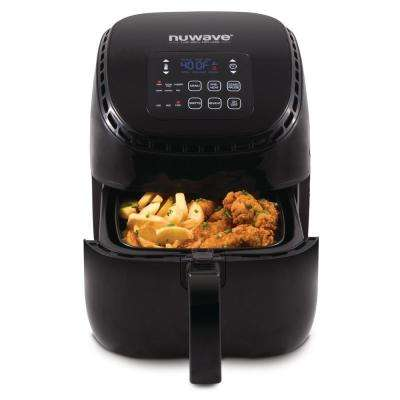 Brio 3 Qt. Air Fryer, Black