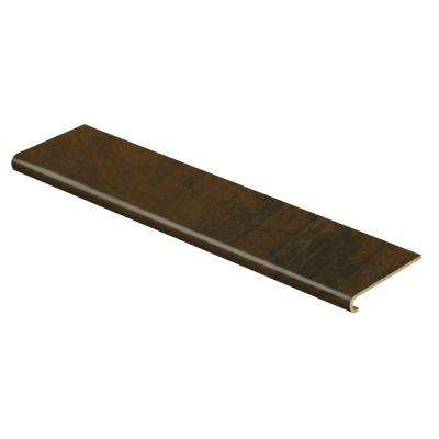 Antique Cherry 47 in. Length x 12-1/8 in. Deep x 1-11/16 in. Height Laminate to Cover Stairs 1 in. Thick