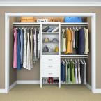 "ClosetMaid Impressions Basic Plus 60"" W - 120"" W Wood Closet System"