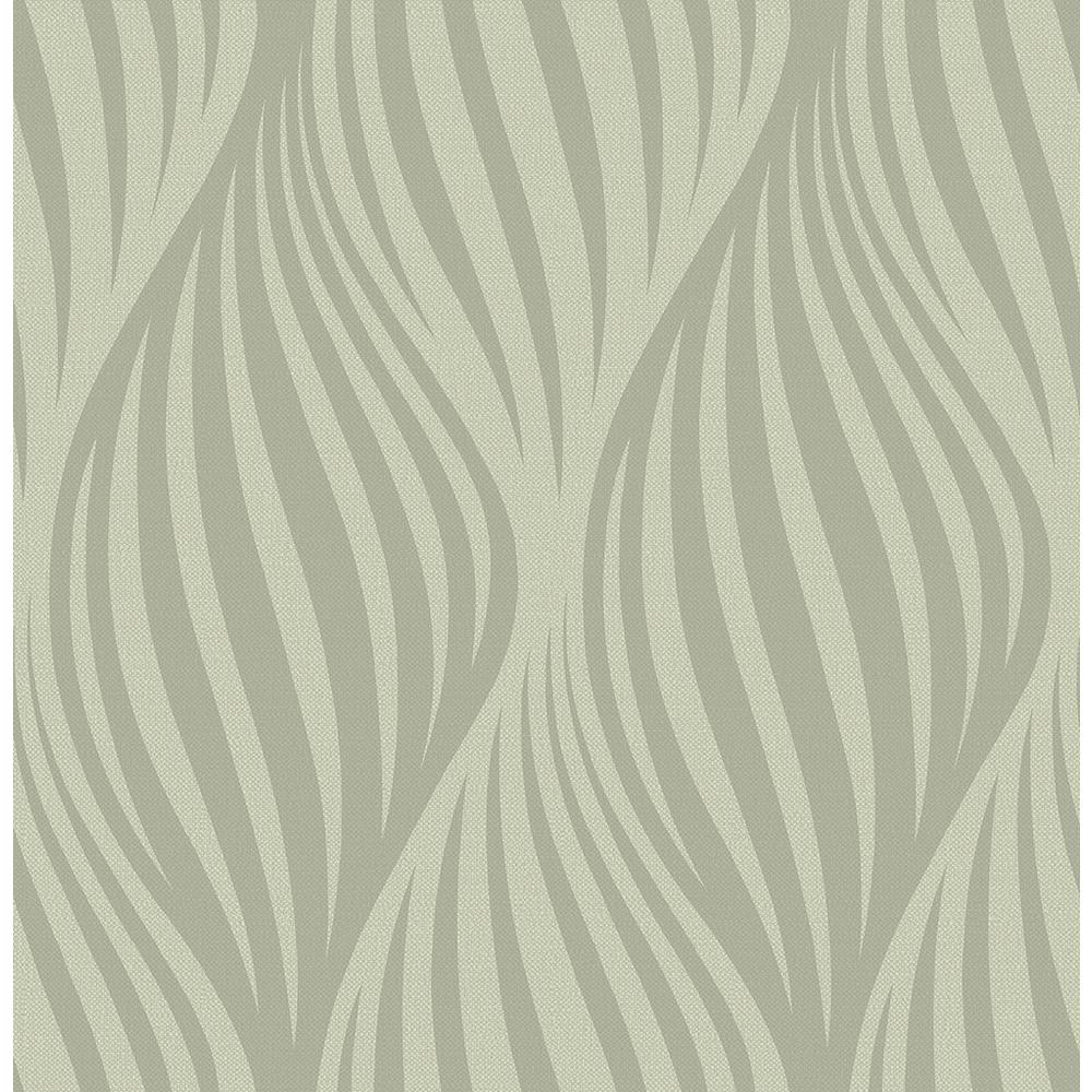 Brewster distinction taupe ogee wallpaper sample 2662 for Brewster wallcovering wood panels mural 8 700