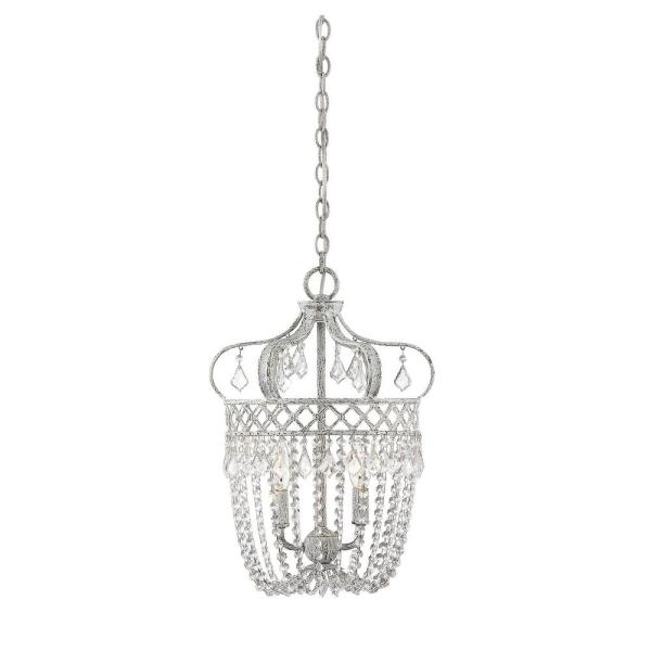 2-Light Charisma Pendant with Clear Accents