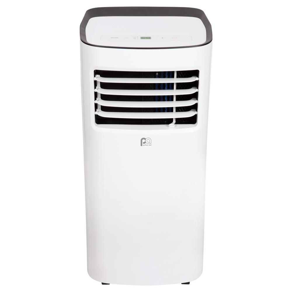 PERFECT AIRE 10000 BTU (10000 DOE) Compact Portable Air Conditioner in White PERFECT AIRE 10000 BTU (10000 DOE) Compact Portable Air Conditioner in White