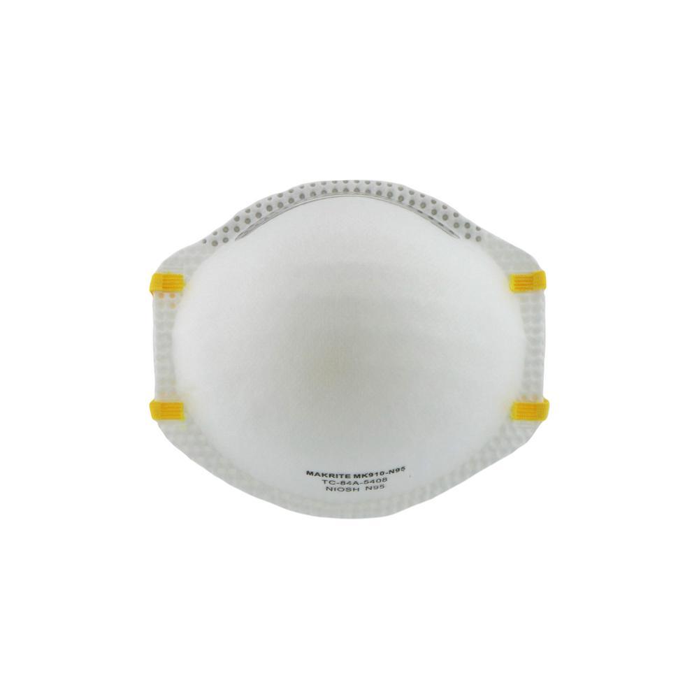 HDX HDX Non Valve Respirator (8-Pack)