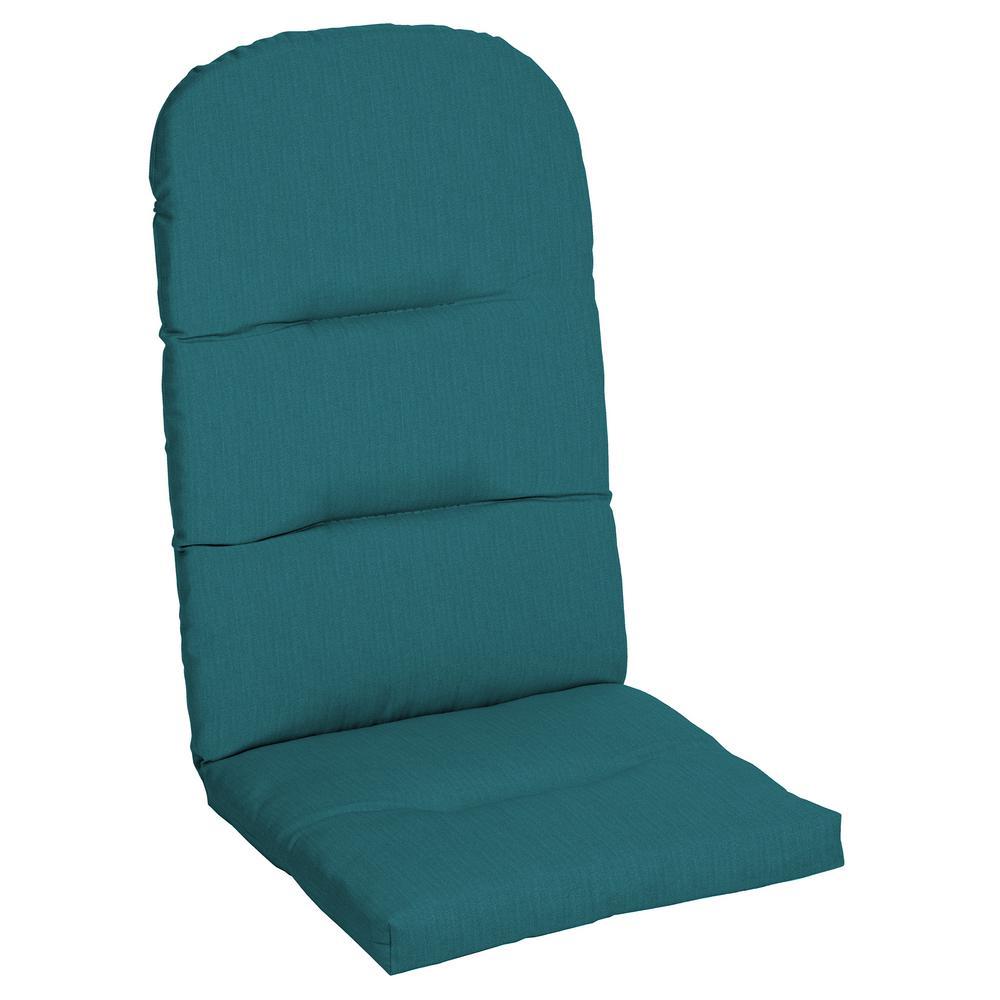 20.5 x 49 Sunbrella Spectrum Peacock Outdoor Adirondack Chair Cushion